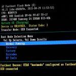 "UTAG ""bootmode"" configured as fastboot を解除する"