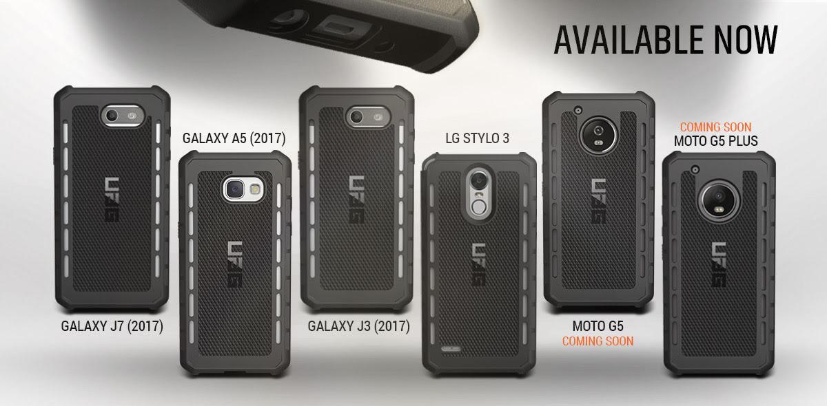best service 0fce4 93ca5 耐衝撃ケース UAG(Urban Armor Gear) が Moto G5 / Moto G5 Plus 専用 ...