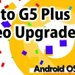 Moto G5 Plus XT1685(reteu)  Oreo Upgrade 8.1.0
