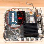 Mac Mini (Late 2009) MC238 J/A の メモリを 8GB に増設