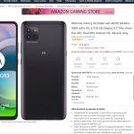 Motorola 5G に対応した 「Moto G 5G」がAmazon ITALY で販売開始!